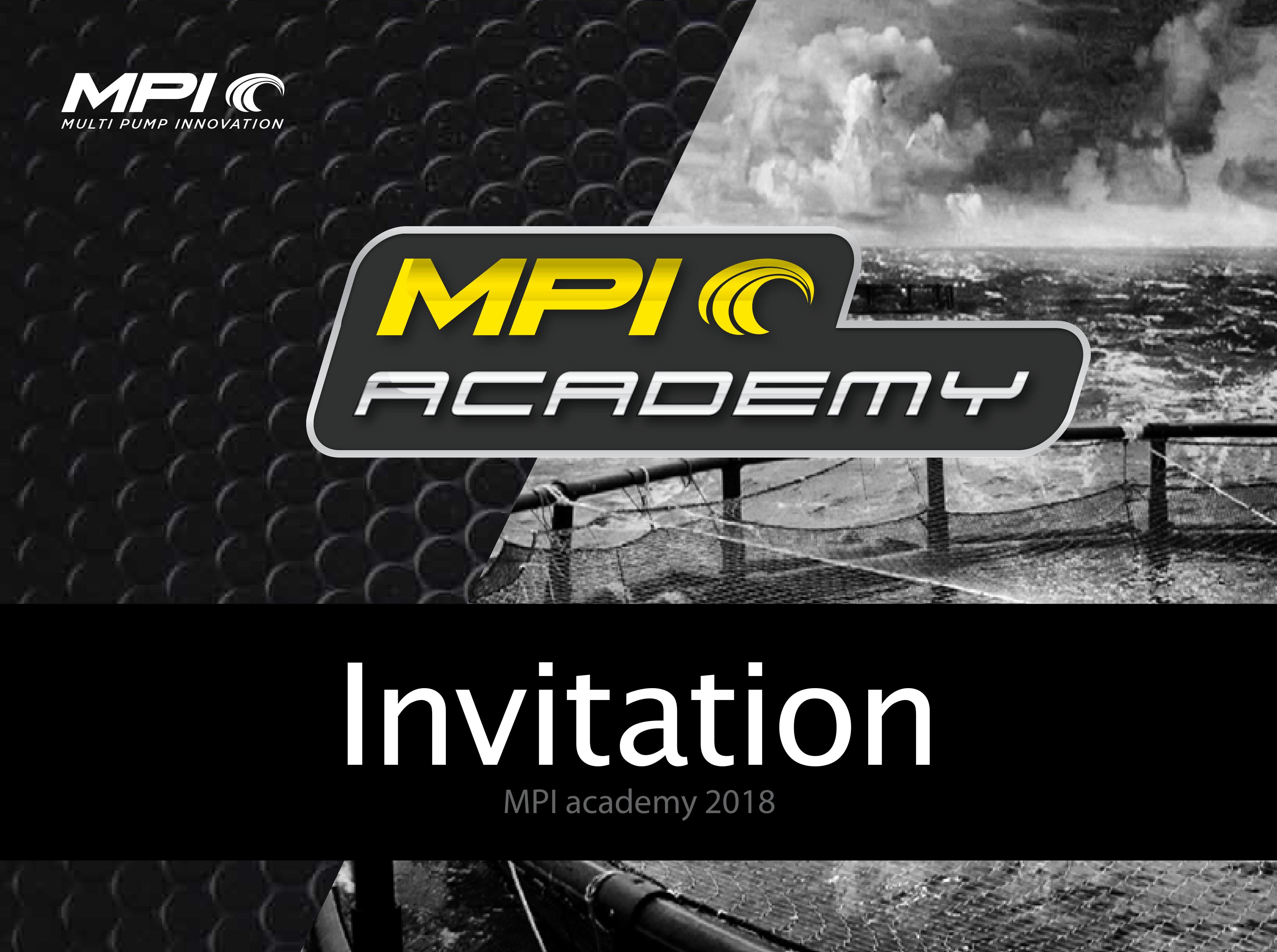 Mpi academy mach2018
